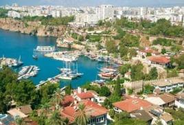 Анталья ожидает по итогам 2017 года 2,6 млн российских туристов